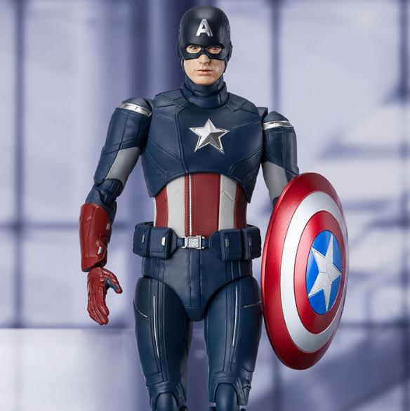 [20년 09월 발매] [반다이] S.H.Figuarts 어벤져스 엔드게임 캡틴 아메리카 CAP VS. CAP EDITION (혼웹한정)