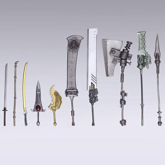 [입고완료] [스퀘어에닉스] 브링아츠 니어:오토마타 트레이딩 웨폰 무기 컬렉션 10개입 BOX