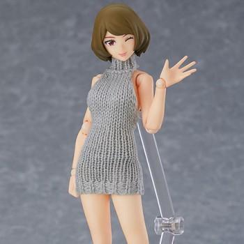 [21년 06월 발매] [맥스팩토리] Figma (피그마) No.505 여성 body (치아키) with 백리스 스웨터 코디