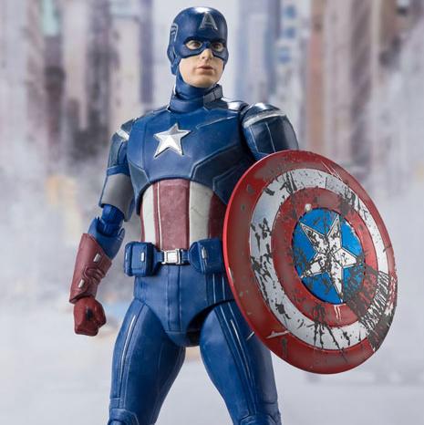 [21년 04월 발매] [반다이] S.H.Figuarts 어벤져스 캡틴 아메리카 -AVENGERS ASSEMBLE EDITION-