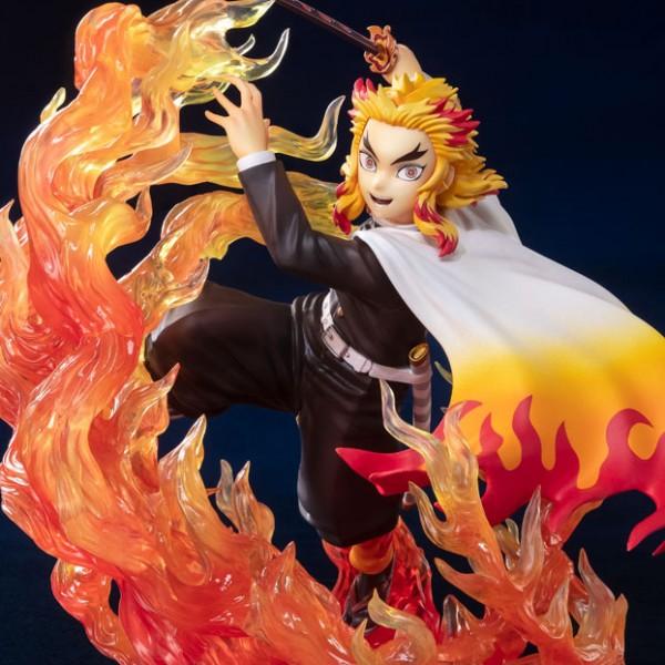 [입고완료] [반다이] Figuarts ZERO 귀멸의 칼날 렌고쿠 쿄쥬로 -불꽃의 호흡-
