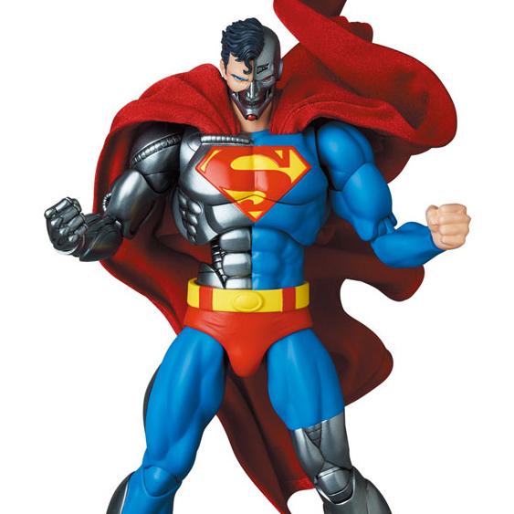 [22년 05월 발매] [메디콤토이] MAFEX (마펙스) No.164 리턴 오브 슈퍼맨 사이보그 슈퍼맨
